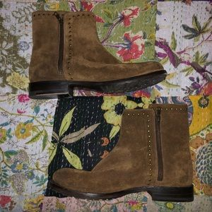 Frye studded booties *only worn once*
